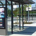 VITRUM City-Light an der Rückseite von Fahrkartenautomaten in Wartehallen (AV 162)