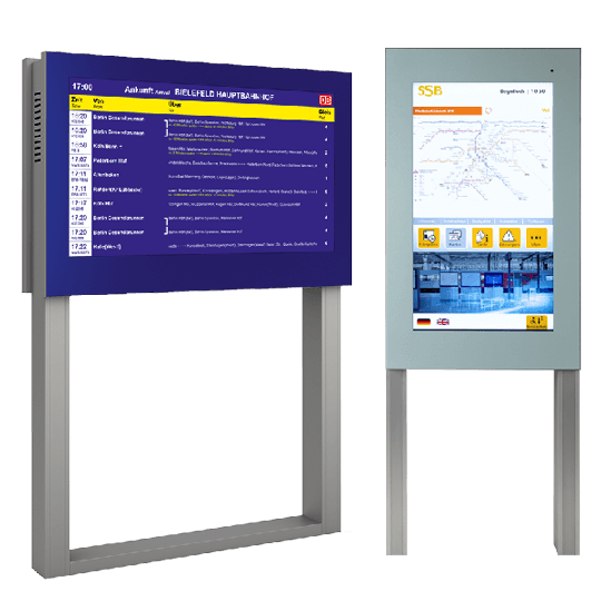 Dynmanische Fahrgastinformationssysteme