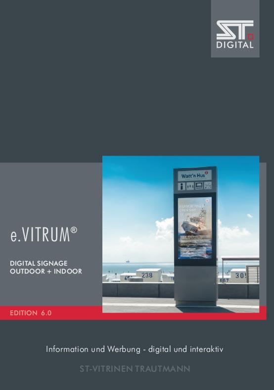 Digital Signage Katalog e.Vitrum 6.0