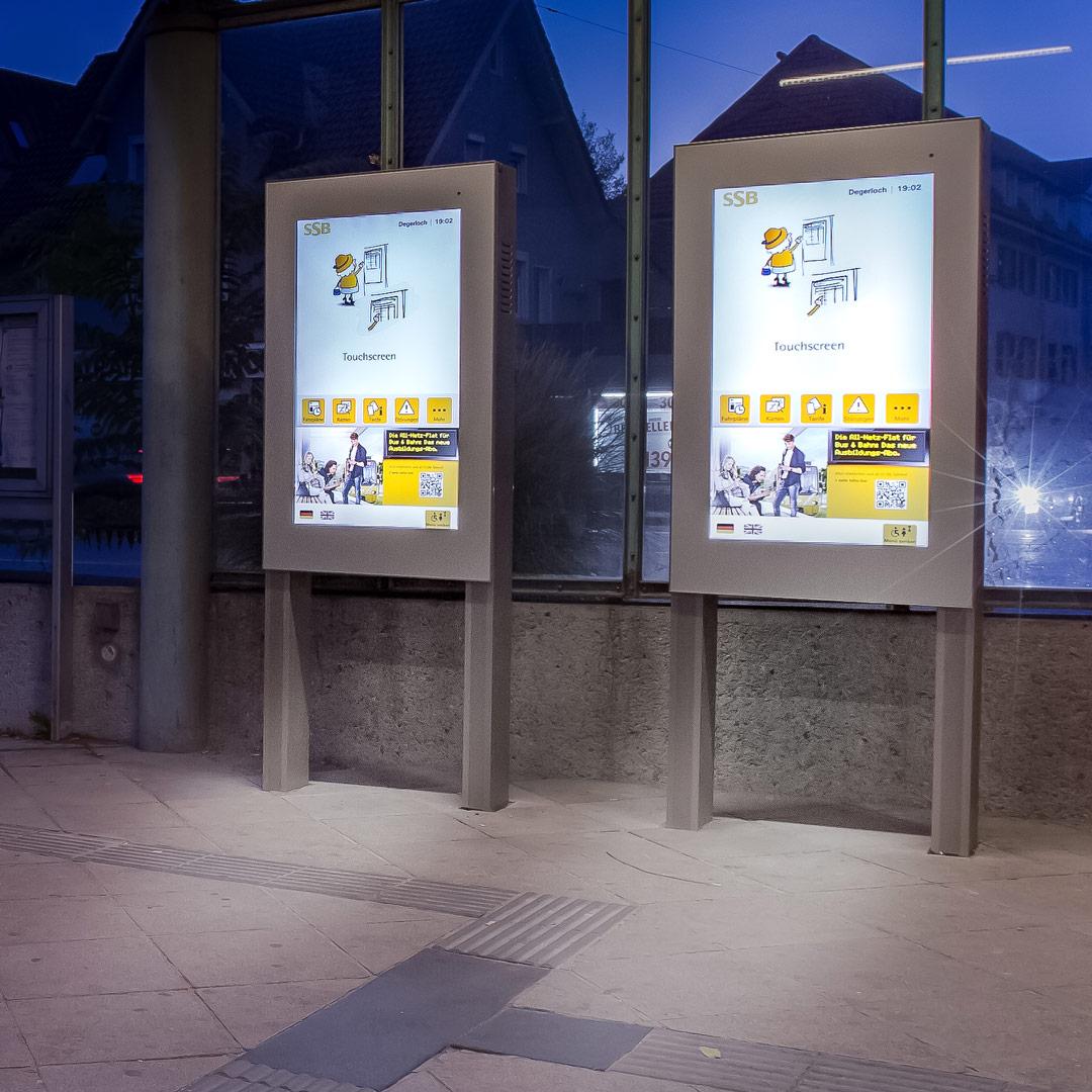 DFI barrierefrei für digitalen ÖPNV in Stuttgart