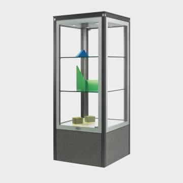 Boulevard-Vitrinen aus Glas