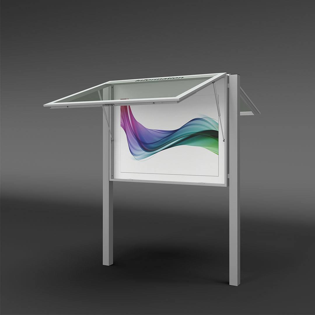 Design Schaukasten beidseitig für Außen