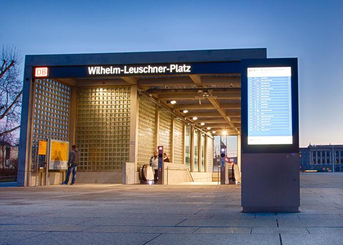 Digitale Fahrgastinformation für Bahnbetriebe
