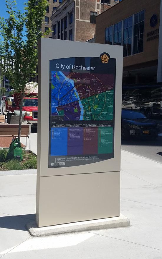Digital Signage Stadtmarketing