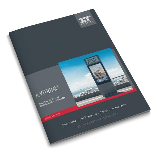 e.VITRUM Hauptkatalog mit Digita Signage Monitorlösungen