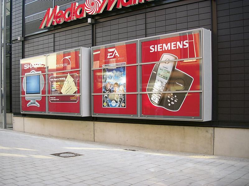 Sonderkonstruktion MediaMarkt