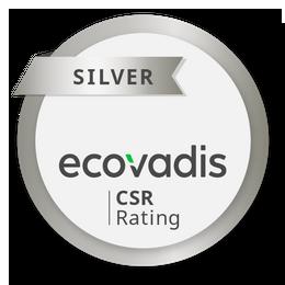 EcoVadis Silver Rating